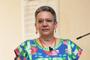 """La doctora Gloria Soberón Chávez, del Instituto de Investigaciones Biomédicas, durante la charla """"Una nueva mirada a la evolución de las bacterias"""", ofrecida en el Segundo Encuentro Ciencia y Humanismo Centro de la AMC."""