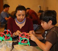 Claudia Guzmán Guarneros se incorporó al programa de la AMC como instructora desde hace 26 años.