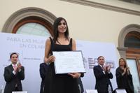 En el área de ciencias exactas, Irais Bautista Guzmán obtuvo una de las Becas para Mujeres en la Ciencia L´Oréal-Unesco-Conacyt-AMC 2017.