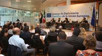 Foro de Diplomacia Científica México y la Unión Europea, en el marco de la Semana de Diplomacia Científica de la Unión Europea, que tuvo lugar este miércoles 21 de marzo en el  Museo de Arte Moderno.