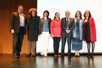 En la imagen: Ernesto Márquez, Julia Tagüeña, Clementina Equihua , Libia Barajas, Jorge Padilla,Lourdes Patiño y Patricia Magaña.