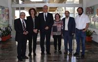 Acompañan al investigador Kimmo Kaski colegas mexicanos del Instituto de Física de la UNAM.