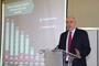 El doctor Enrique Cabrero Mendoza, director general del Consejo Nacional de Ciencia y Tecnología (Conacyt) impartió la conferencia