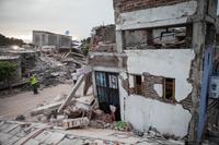 Imágenes de las destrucción que dejó el sismo del 19 de septiembre de 2017 de magnitud 7.1 en Jojutla, el municipio más afectado en Morelos, uno de los estados del centro del país que más daños registró tras el movimiento telúrico.