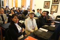 Jóvenes investigadores y científicos con carreras consolidadas reunidos en Construyendo el futuro. Encuentros de Ciencia 2017, una actividad académica de dos días que contempla 40 conferencias y presentaciones en las sedes de la Universidad Michoacana de San Nicolás de Hidalgo y la UNAM Campus Morelia.