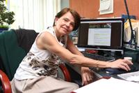 La doctora María Ester Brandan, investigadora del Instituto de Física de la UNAM e integrante de la Academia Mexicana de Ciencias, es una de las co-organizadoras del Simposio