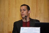 Doctor Carlos Gershenson García, investigador del Departamento de Ciencias de la Computación del IIMAS-UNAM, líder del proyecto junto con Jorge Zapotécatl.