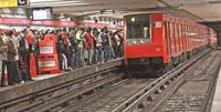 Imagen de la estación del Metro Pino Suárez.