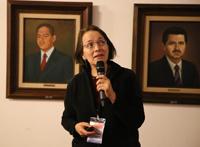 Doctora Estela Lizano Soberón,del Instituto de Radioastronomía y Astrofísica de la UNAM y vicepresidenta de la AMC.