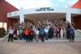 Los estudiantes de nivel bachillerato que participan en la XXVII Olimpiada Nacional de Biología visitaron el planetario Yook'ol Kaab de Chetumal, Quintana Roo, como parte de sus actividades recreativas.