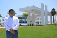 El investigador José Torres Jiménez, miembro de la Academia Mexicana de Ciencias, en las instalaciones del Cinvestav-Tamaulipas, donde se encuentra un repositorio de covering arrays.