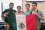 El equipo mexicano que participó en la iGeo2015 en Tver, Rusia: Gustavo García Venegas, de Coahuila, ganador de la medalla de bronce; Rodrigo Malagón Rodríguez, del Distrito Federal; Daniel Murillo Benítez y Miguel Ángel Puente Montañez, ambos de Baja California.