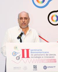 Cabrero habló ante 85 periodistas procedentes de 15 estados de la República Mexicana y cuatro países de Iberoamérica.
