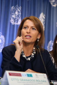 Nuria Sanz, directora y representante de UNESCO en México.