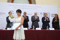 En el área de ingeniería y tecnología, la doctora Luz María Alonso Valerdi obtuvo una de las Becas para Mujeres en la Ciencia L'Oréal-UNESCO-Conacyt-AMC 2017.
