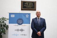 El investigador Eduardo Santillan Zeron, del Departamento de Matemáticas del Cinvestav, ofreció la primera charla del programa Ciclo de Conferencias Premios de la Investigación AMC correspondiente al 2016.