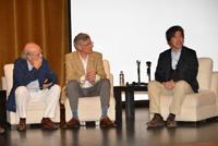 Doctores José Manuel Garcìa Ruiz, del Consejo Superior de Investigaciones Científicas de la Universidad de Granada, España; Jorge L. Vago (ESA) y Tomoki Nakamura, de la Universidad de Tohoku, Japón. Misión Hayabusa.