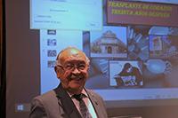 El doctor Rubén Argüero Sánchez, responsable del primer trasplante exitoso de corazón en México y pionero mundial en el implante de células madre en corazón, sostuvo que la donación es un acto de altruismo, un regalo de vid.