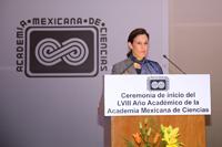 Erika Pani, ex secretaria del Consejo Directivo de la AMC.