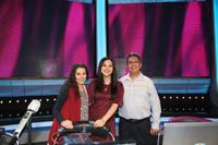 Estela Roselló Soberón, Andrea Rodríguez Tapia y Erik Velásquez García,  miembros del comité académico y organizador de la OMH.