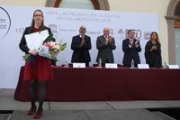 Ana Sofía Varela Gasque obtuvo una de las Becas para Mujeres en la Ciencia  L'Oréal-Unesco- Conacyt-AMC 2017, en el área de ciencias naturales.