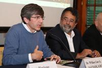 El doctor William Lee, secretario de la Academia Mexicana de Ciencias y director del Instituto de Astronomia de la UNAM, da a conocer detalles sobre la séptima edición de la actividad que tendrá 67 sedes en territorio nacional además de Colombia, Argentina y Brasil.
