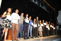 Ganadores de medalla de oro en la XXVI Olimpiada Nacional de Biología, certamen que organiza la Academia Mexicana de Ciencias, celebrada del 22 al 26 de enero, en San Francisco de Campeche. Campeche.