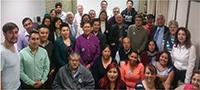 Grupo de colaboradores y estudiantes de la doctora Claudia Hernández Aguilar.