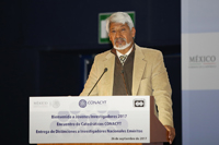 José Luis Morán, presidente de la Academia Mexicana de Ciencias.
