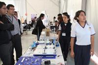 'Aqua-electric', proyecto ganador en la modalidad de aparato didáctico, realizado por Laura Valadez Ornelas, Paola Juárez Rangel y Diana Rojas Gómez, del Sistema Avanzado de Bachillerato y Educación Superior del Estado de Guanajuato.