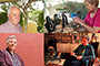 En la imagen (de arriba a abajo): El antropólogo Salomón Nahmad y Sittón, la escritora Leonor Farldow Espinoza, la bailarina y coreógrafa Rossana Filomarino y la escritora y poeta Angelina Muñiz-Huberman, ganador y ganadoras del Premio Nacional de Artes y Literatura 2018.