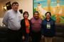 Cuauhtémoc Velázquez (Veracruz),  María Leandra Salvadores (Tabasco), Carlos Isaac Silva (Querétaro) y Rosa María García (Guanajuato), son parte del grupo de delegados que cumplen 25 años de apoyo y colaboración con la Olimpiada Nacional de Biología de la AMC.