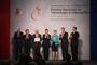 El presidente de México, Enrique Peña Nieto, y los titulares de la Secretaría de Economía, del Consejo Nacional de Ciencia y Tecnología y de la Fundación Premio Nacional de Tecnología e Innovación. A.C., entregaron hoy la XVI edición del Premio Nacional de Tecnología e Innovación, en un evento organizado por la Canacintra.