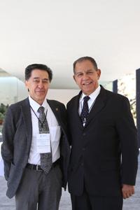 Doctores Jaime Urrutia Fucugauchi y Manuel Limonta.