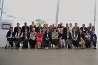 """Foto del grupo participantes en el taller """"Cuestiones de género en investigación de campo y la internacionalización de la ciencia"""", organizado por ICSU/CFRS y la Academia Mexicana de Ciencias."""