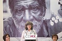 Ana Luisa Gamble Sánchez, coordinadora de Gerintología IAAMCDMX.