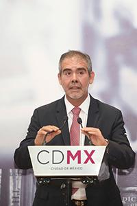David García Junco Machado, secretario de Ciencia Tecnología e Innovación de la CDMX.