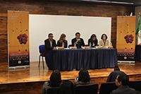 Jesús Mendoza Álvarez, subdirector de Comunicación Pública de la Ciencia del Consejo Nacional de Ciencia y Tecnología, encabezó la conferencia de prensa para anunciar la III Muestra Nacional de Imágenes Científicas, la cual se inaugurará el próximo 6 de septiembre en la sala Julio Bracho del Centro Cultural Universitario.