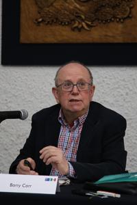 El historiador Barry Carr, de La Trobe University.