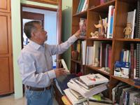 El doctor en antropología Jorge Hernández Díaz, investigador de la Universidad Autónoma Benito Juárez de Oaxaca.