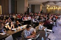 Asistentes a la 8ª Cumbre de Género 2016.
