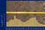 Fotografía de un núcleo sedimentario y un perfil de flujo de carbono orgánico, que incluye los valores de flujo respecto a la profundidad y la edad derivada del fechado con plomo 210.