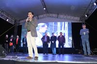 El doctor Jaime Urrutia Fucugauchi, presidente de la Academia Mexicana de Ciencias, institución que coordina la Noche de las Estrellas, dirigió unas palabras a los asistentes durante la inauguración del evento, el cual busca afianzar una cultura científica a través de la astronomía en todos los estratos de la población.