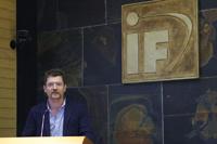 Doctor Ruben Possion, investigador del Instituto de Ciencias Nucleares y del Centro de Ciencias de la Complejidad (C3) de la UNAM.
