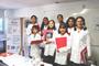 """Integrantes del grupo """"Niñas con ciencia"""", una iniciativa de la Academia Mexicana de Ciencias (AMC), que cuenta con el apoyo de la UNAM y la UAT, participaron en la primera jornada del programa"""