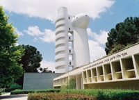 Exterior del Instituto Weizmann en Rehovot, Israel.