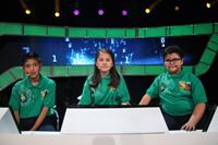 Equipo verde: Etienne Hernández Ordaz y Michelle Hernández (Tlaxcala), y Horacio Villalobos (Estado de México).
