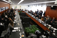 """Instalación del """"Consejo Técnico para las alternativas de regulación de la marihuana"""" en el Senado de la República."""