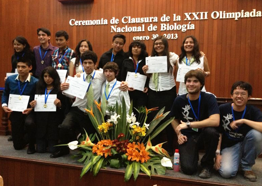 Olimpiada Nacional de Biología en Queretaro