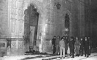 El 30 de julio de 1968 un grupo de granaderos derribó con un bazucazo la puerta colonial de la que fuera la Escuela Nacional Preparatoria, ubicada en el Colegio de San Ildefonso, en el Centro Histórico de la Ciudad de México, para reprimir las protestas estudiantiles que habían realizado días antes alumnos del IPN y la UNAM, este hecho marcó el inicio del movimiento estudiantil del 68.